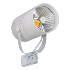 25W Led Interior Floodlight Cob White Body, Warm White Light